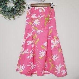Lilly Pulitzer Blossom Hotty Pink Twirler Dress 10